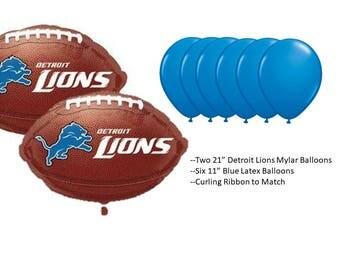 Detroit Lions Balloons