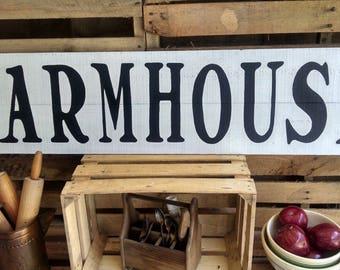 Farmhouse Wood Signs - Farmhouse Signs - Rustic Farmhouse Signs - Reclaimed Wood Sign - Farmhouse Decor - Farmhouse Wall Decor - Rustic Sign