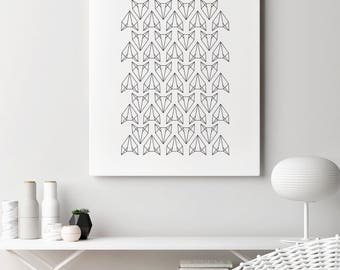 Poster | Illustrated Poster | Wall Decor | Minimal Print Poster | Animal Poster | Fox Poster | Home Decor | Poster Design | Postcard