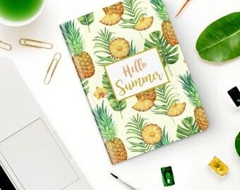 Notebook   Pocket Notebook   Gift   Notepad   Sketch   Drawing   Journal   Planner   Summer   Pineapple