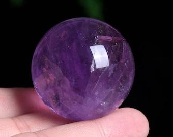 Amethyst Crystal Sphere Healing/Natural Amethyst Quartz Crystal Sphere Healing W003