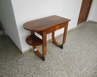 Art Deco desk,Austrian Art Deco  table 1920s,side table.