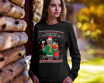 Boxer Dog Ugly Christmas Sweater,Funny Christmas sweater, Ugly xmas dog, Christmas tee, ugly sweater party, Boxer mom