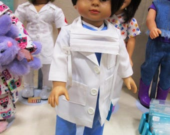 Doctor Costume for 18 inch dolls