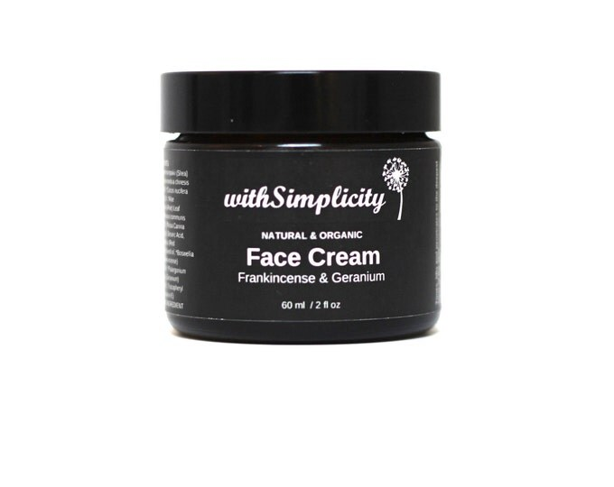 SAMPLE Organic Face Cream