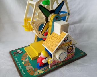 Vintage Fisher Price Farris Wheel