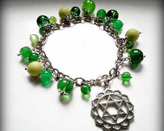 4 Chakra bracelet-Green