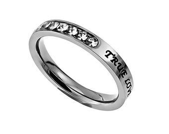"Princess Ring ""True Love Waits"""