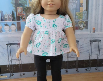 18 Inch Doll Clothes - Top and Leggings