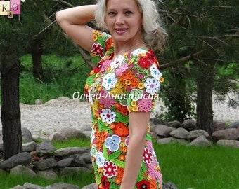 """Irish lace by Olga-Anastasia. Ирландское кружево. Платье """"Виктория"""",авторская работа НА ЗАКАЗ"""