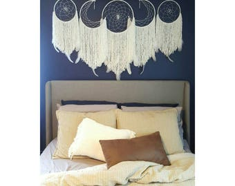 Dream Catcher Wall Hanging // Set of Five // Custom