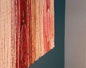 Tassel Add on for Custom Yarn Wall Hanging