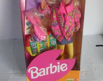 Mattel Naf Naf European Barbie Doll Special Edition Vintage Doll