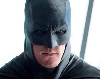 Batman Dawn of Justice Affleck cowl mask Batfleck