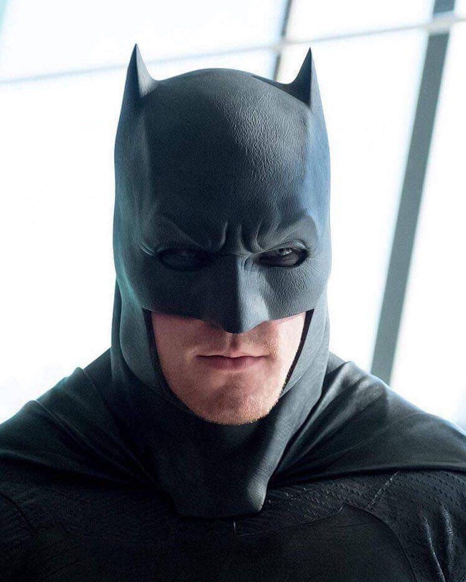 Batman Dawn of Justice Affleck cowl mask Batfleck Batman Cowl Ben Affleck