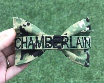Military Navy Type 3 Nametape Bow (New Navy Uniform)