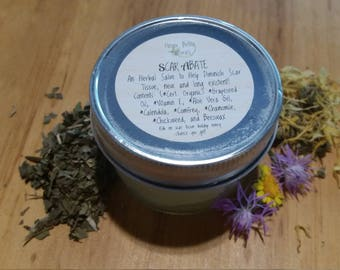 Scar Abate Healing Salve- Helps to diminish even old scar tissue build up!