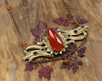 Orange dream necklace