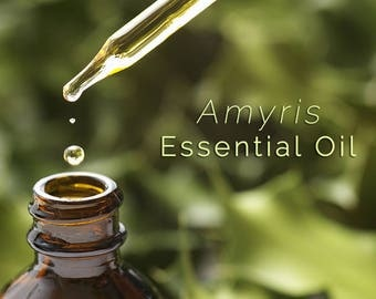 1/2 Oz Amyris Essential Oil   Essential Oils   Amyris Oil   All Natural Essential Oils   Witchcraft Ritual Supply   Wicca Supplies
