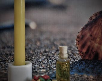 BEAUTIFUL WITCH Spell Kit w/ Ritual Oil, Candle, Candle Holder, Flash Paper, Incense, Spell Kit, Wicca, Witchcraft, Pagan