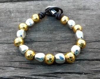 Gold bracelet one of 50 style