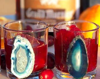 Geode Shot Glasses set of 4