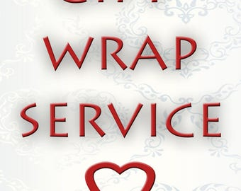 Gift Wrapping Service - Gift Packaging - Gift Wrap - Gift wrap option