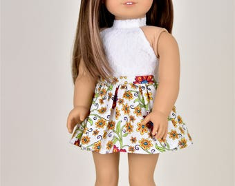 Skirt  18 inch doll clothes