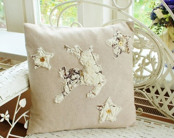 Pillowcase reindeer