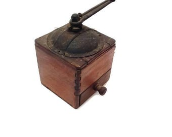 vintage french coffee grinder