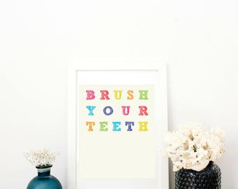 Brush Your Teeth Digital Download