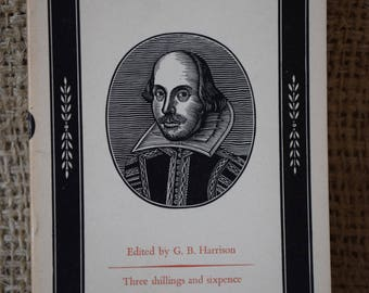 As You Like It. William Shakespeare. A Vintage Penguin Book. 1962