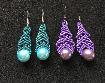 Personalized Macramé Earrings