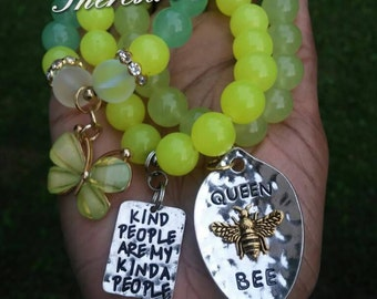 Kind People Bracelet Set