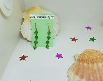 Earrings Crystal beads