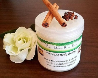 Whipped Body Butter Lotion Choose Fragrance Vitamin E Moisturizing