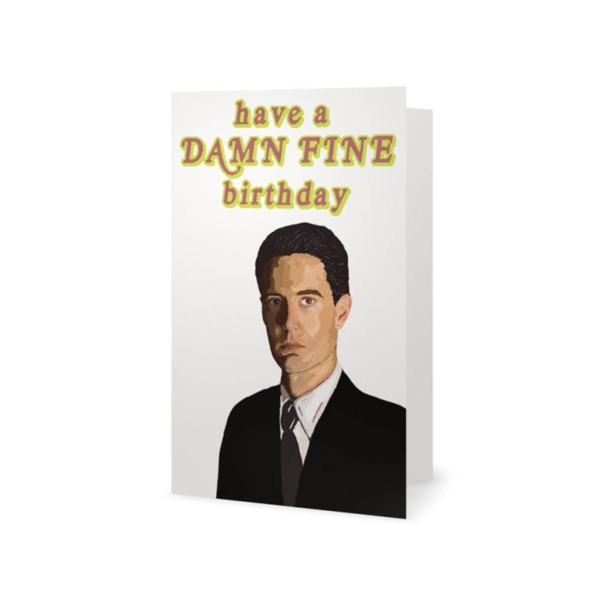 Twin Peaks Birthday Card Special Agent Dale Cooper David – Bruce Springsteen Birthday Card