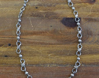 Vintage Mexican Sterling Silver Chain