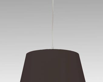 Lampshade brown - black individual size and colour