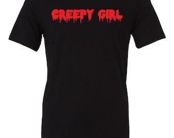Creepy Girl shirt | Creepy Girl t-shirt | Halloween shirt | Halloween