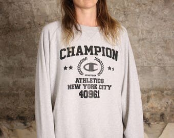 Champion Sports Sweater Vintage 90s