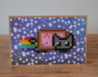 Nyan Cat Card