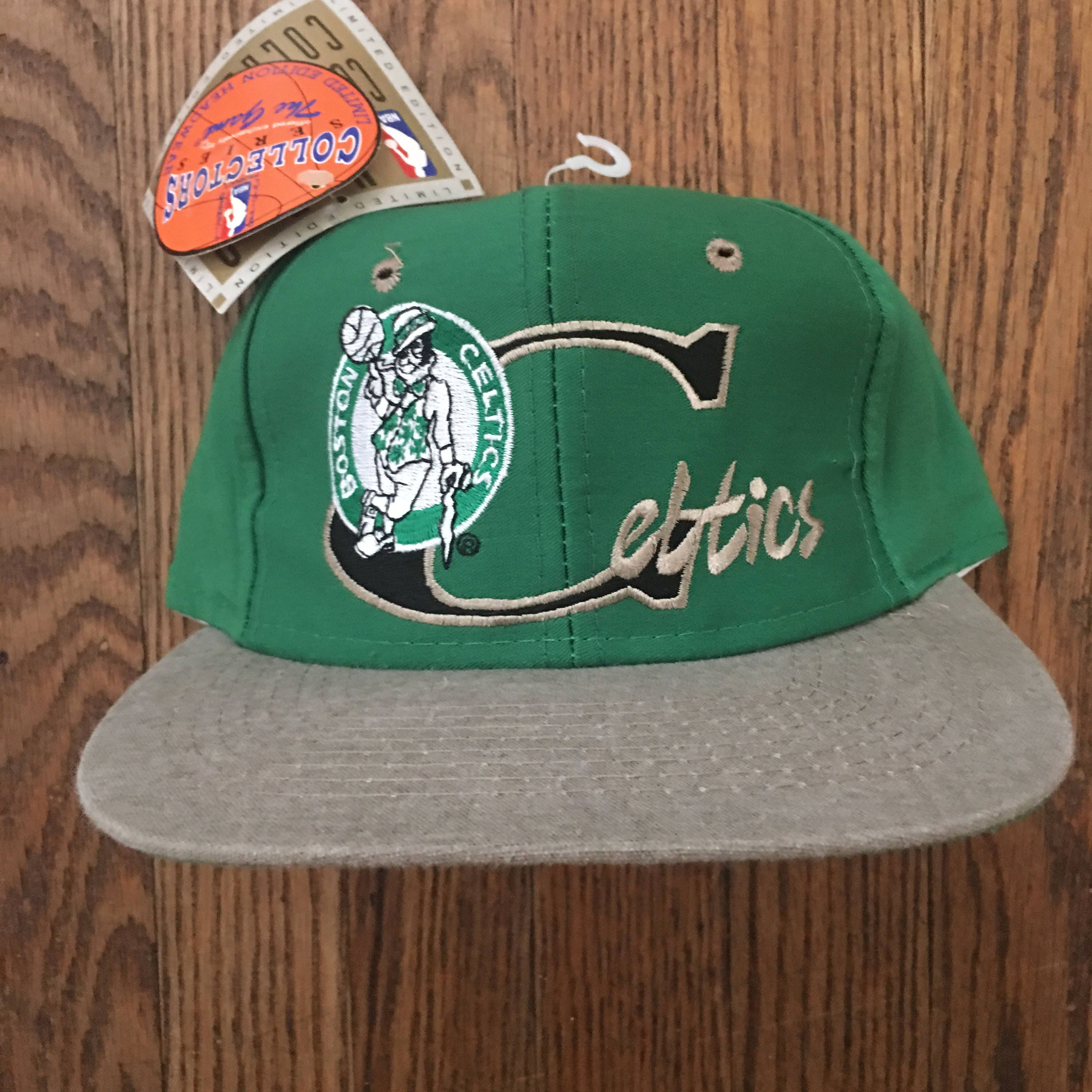 3f70772ff0d Vintage 90s Deadstock The Game Boston Celtics Limited Edition 1025 6000  Basketball NBA Snapback Hat