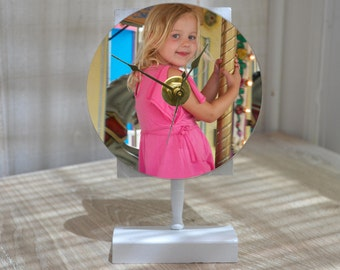 PHOTO CLOCK Custom Photo Clock From Your Favorite Photo!