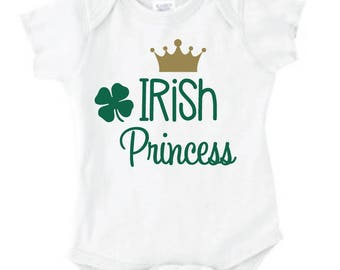 St. Patrick's Day Irish Princess - Shirt/Onesie