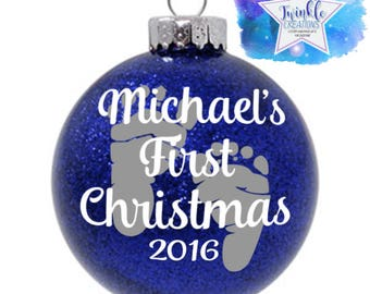 Girls Christmas Ornaments Personalized Baby Ornament Childrens