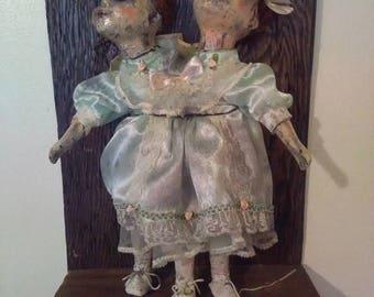 Two Headed Alien Doll!