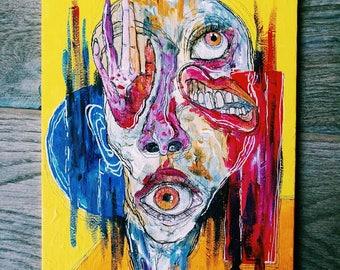 Disortografia - Acrylics on canvas