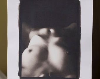 Platinum/Palladium Print: Glass Olive No. 1466