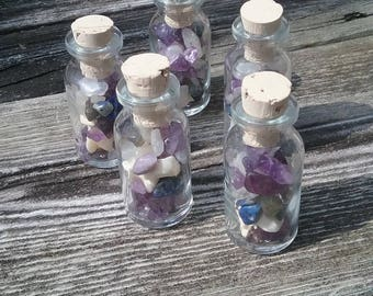 Psychic enhancement Spell Potion,Real Python Vertebrae,Fairy Faerie Bottle Vial,Crystals,Curiosities taxidermy,Witchcraft wiccan pagan